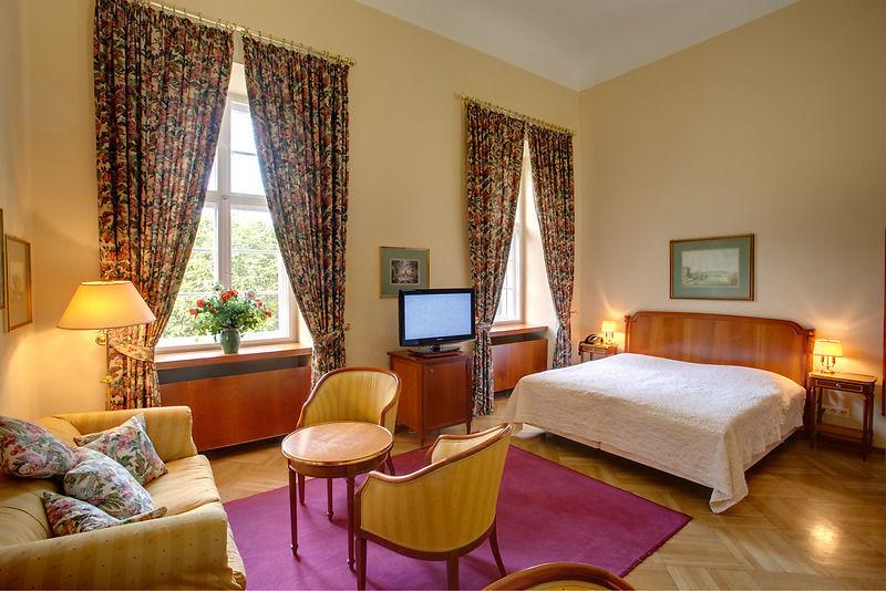 Beispiel: Doppelzimmer, Foto: Schloss Lübbenau.