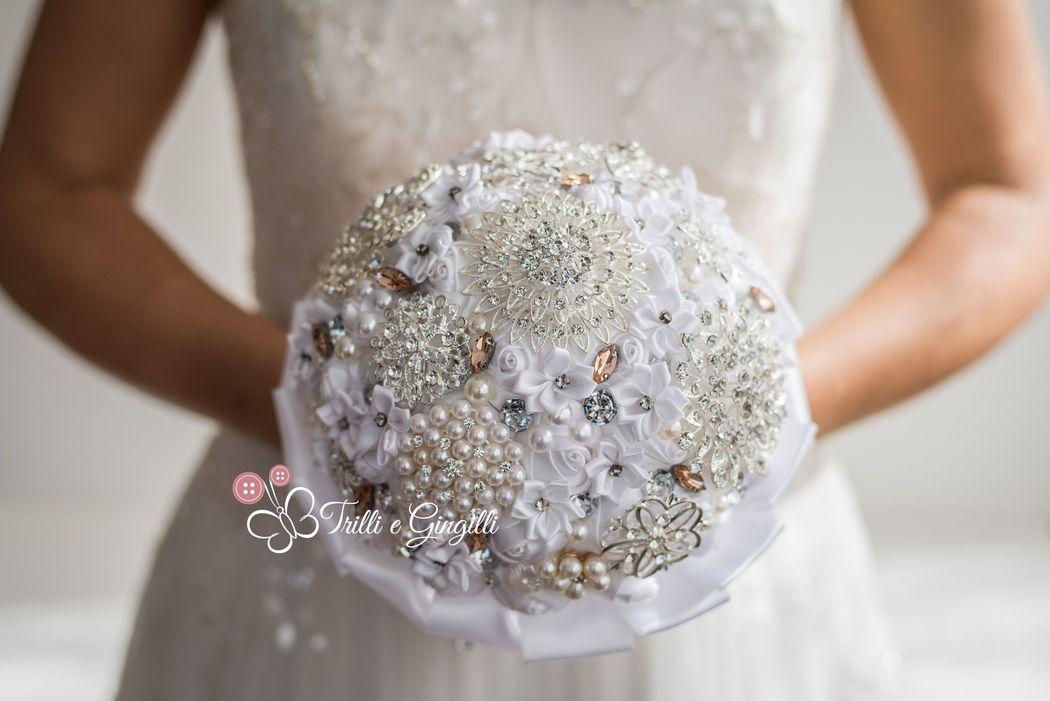 Bouquet gioiello by Trilli e Gingilli