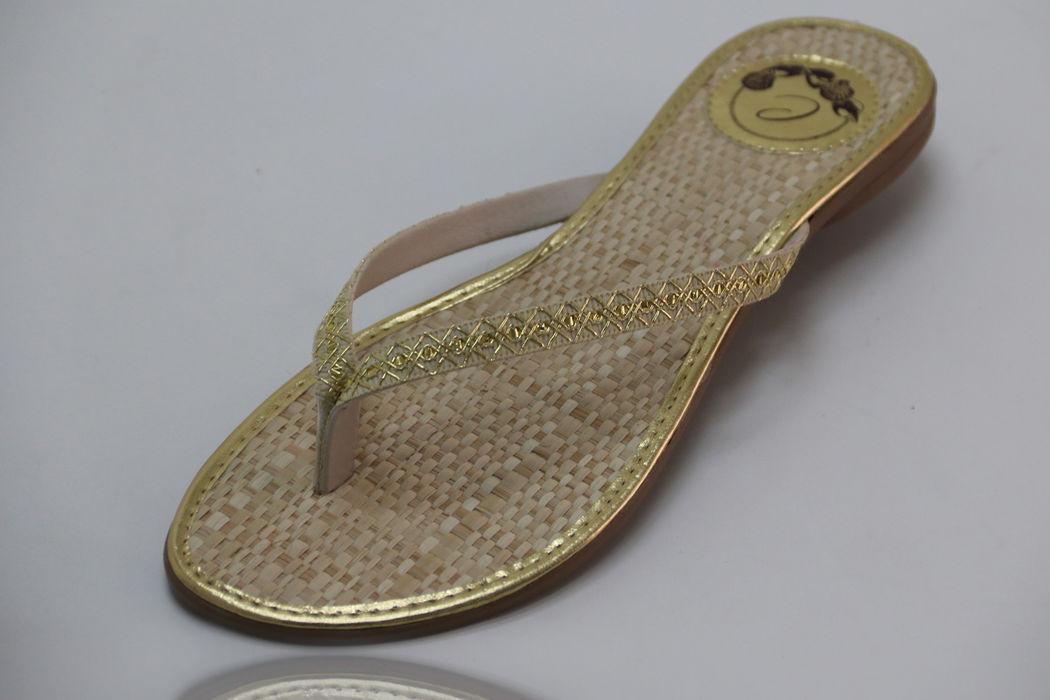Eco Slim com Tira Grega Dourada