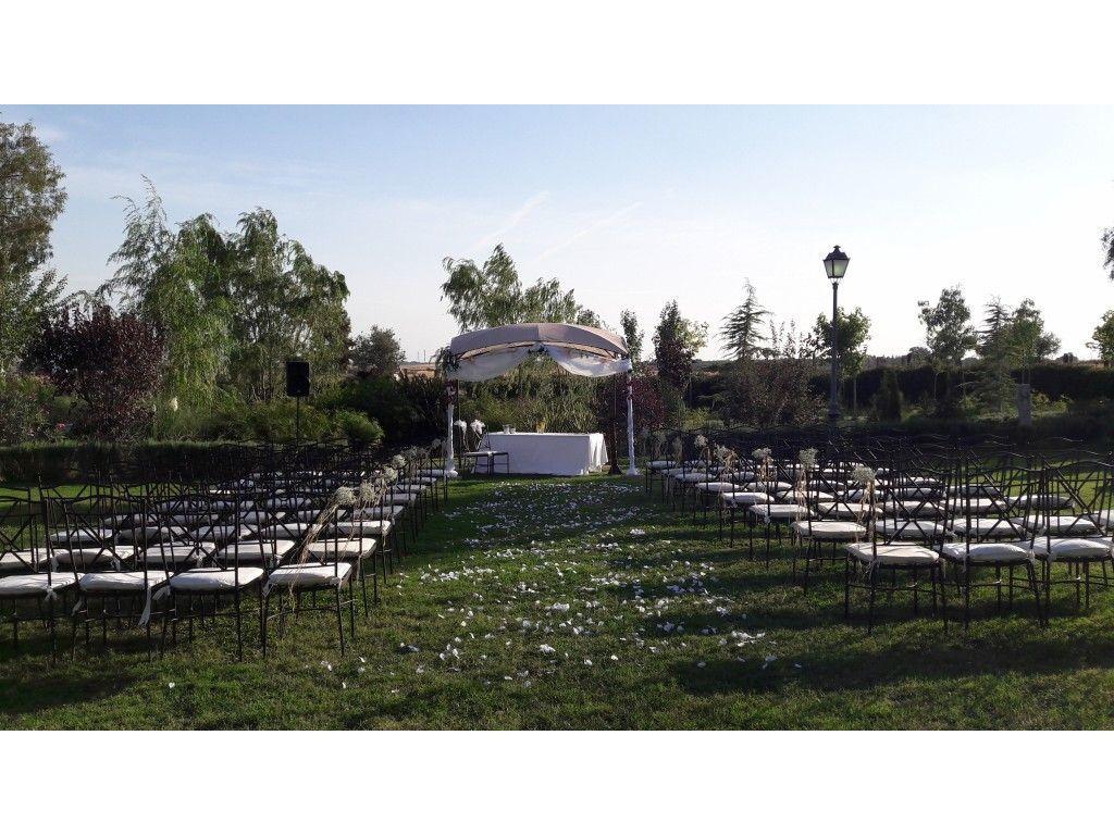 Ceremonia Jardín YourWay bodas