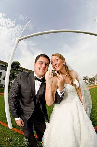 Matrimonio Lindie y GianCarlo Una bella sesión con un par de rugbistas enamorados