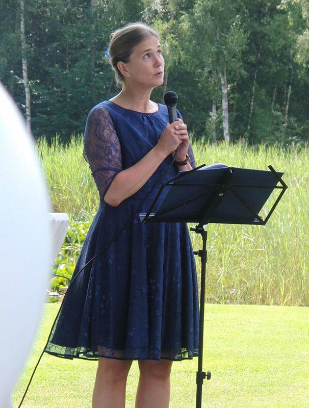 Beispiel: Trauung unter freiem Himmel, Foto: Rederei Kathrin Wenzel.