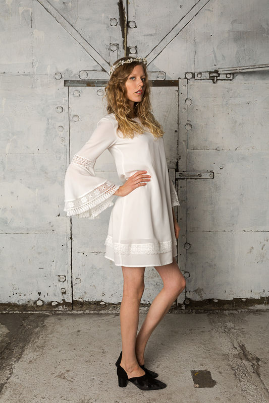 Gabriele dress from the Indiebride collection