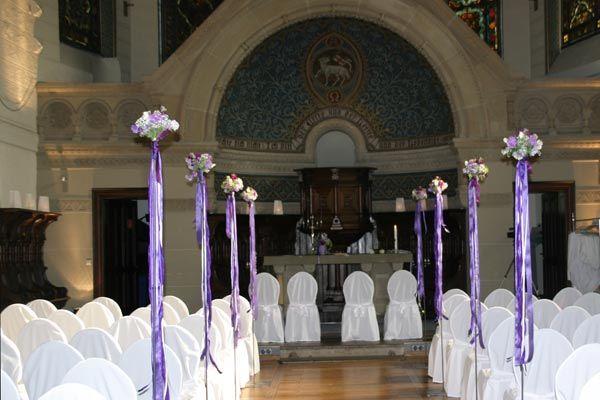 Beispiel: Hochzeitsdekoration, Foto: a.p.a.r.t.