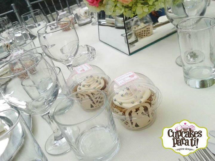 Cupcakes para ti! Cupcakes para recuerdo de tu boda