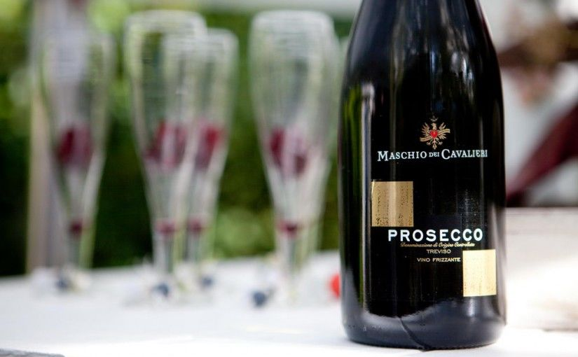 toost met prosecco