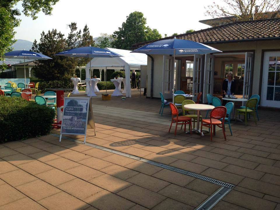 Beispiel: Außenbereich - Terrasse, Foto: Das Bootshaus.
