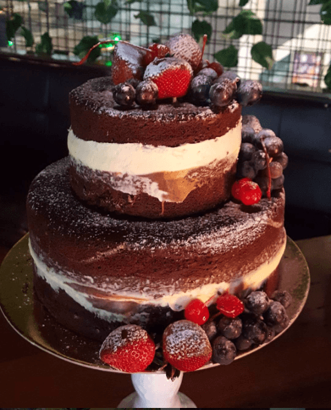 Torta de Chocolate y Nuez