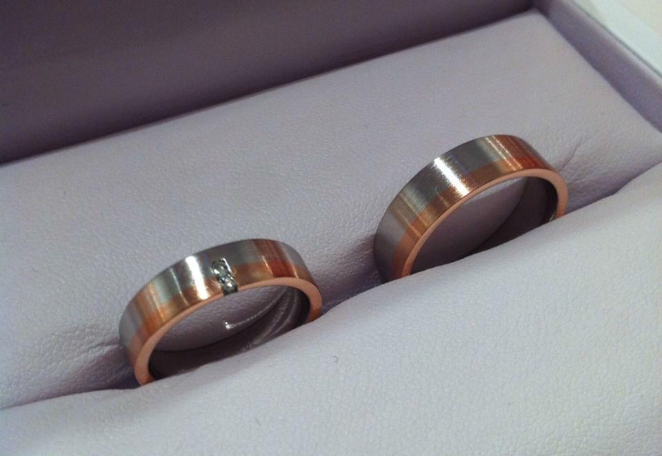 Beispiel: Trauringe, Foto: Juwelier Laura.