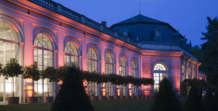Beispiel: Orangerie - Außenansicht, Foto: Schlosshotel Pillnitz.