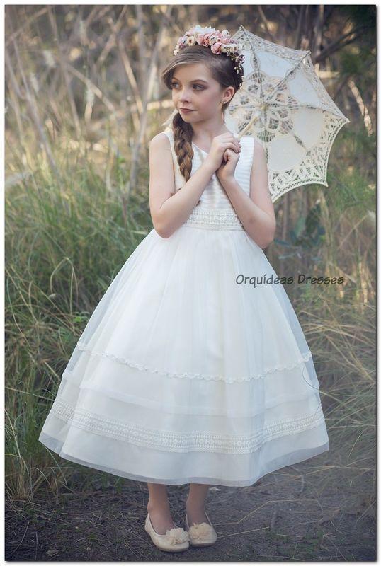 Y Vestidos Pajecitas Dresses De Orquídeas Opinionesfotos