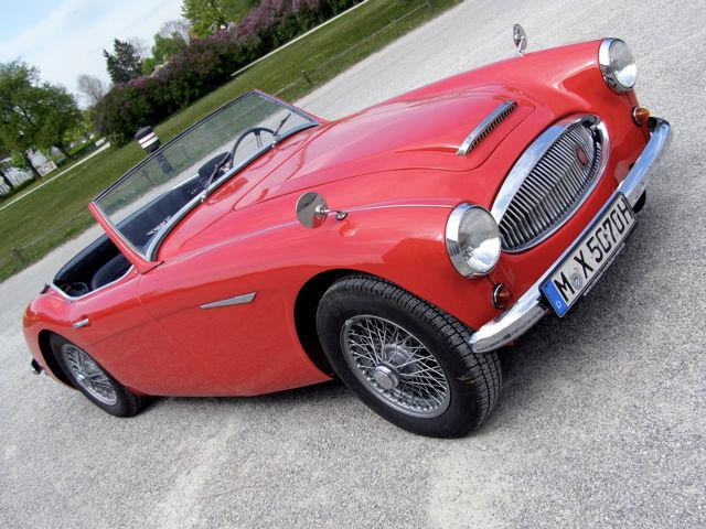 Oldtimer zum Selberfahren: Austin Healey 3000 MKII BT7 Foto: Classic Roadster München