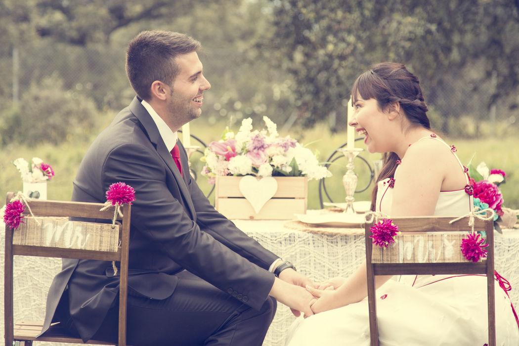 Bodas & Alegria Decoración de boda handmade