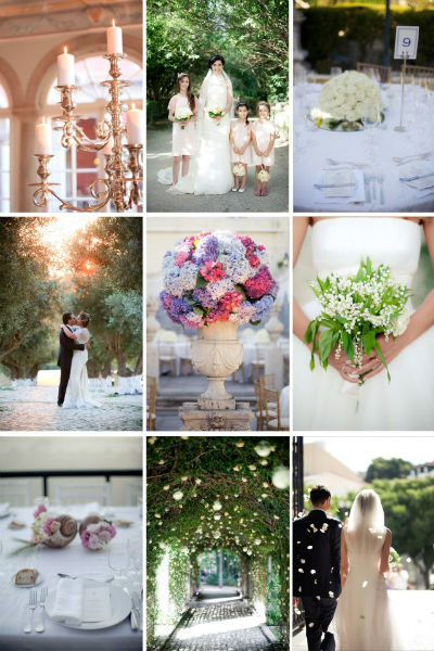 Details from some Weddings by The Wedding Company