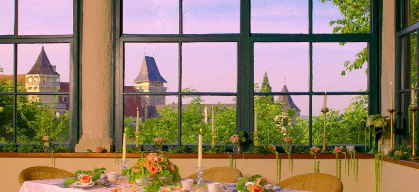 Beispiel: Festsaal, Foto: Schlossgasthof Rosenburg.