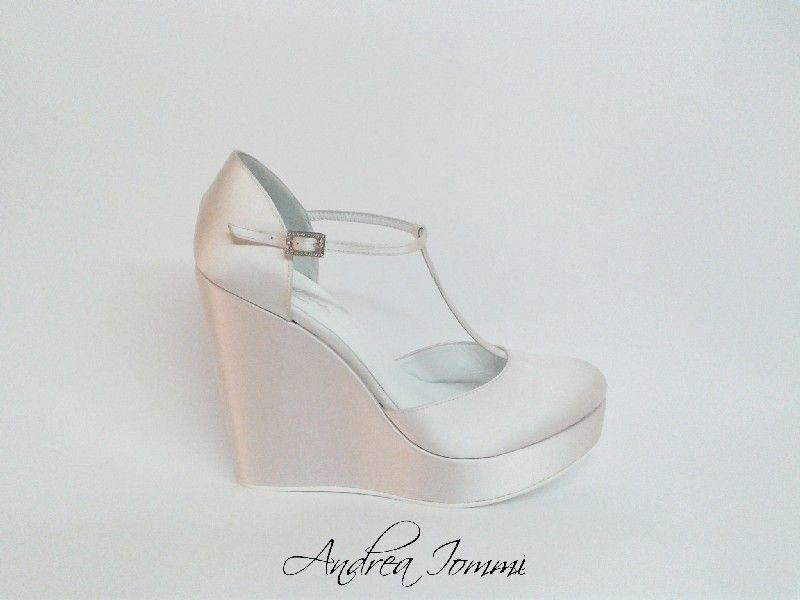 scarpe sposa zeppa