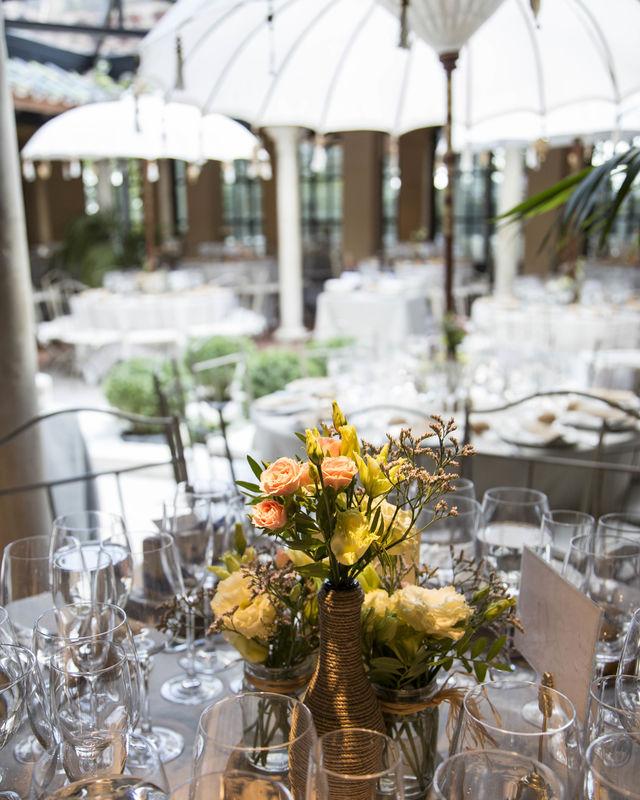 Decoración de mesas, espacios, celebraciones. La Luciérnaga Bodas
