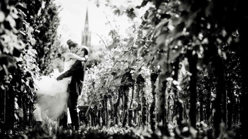 Beispiel: Romantischer Augenblick, Foto: Katja Schünemann Wedding Photographie.