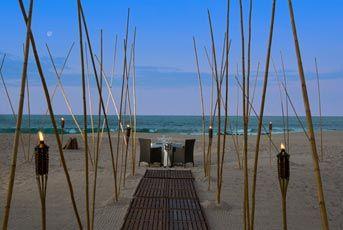 Cenas Romanticas para Lunamieleros Playa del Hotel