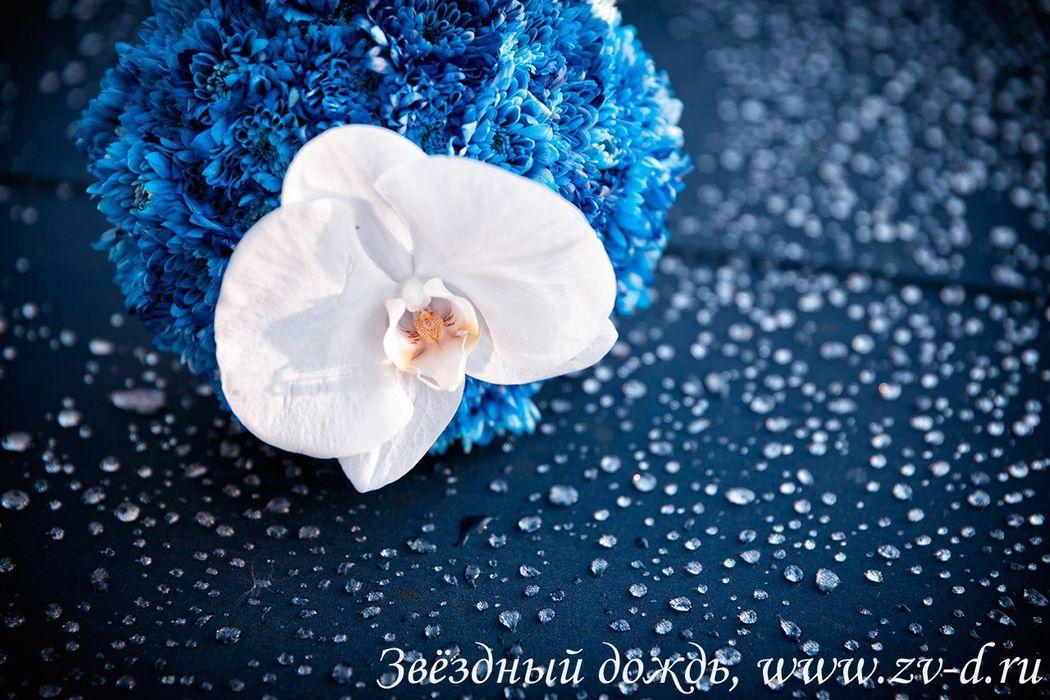 Букет невесты с орхидеей