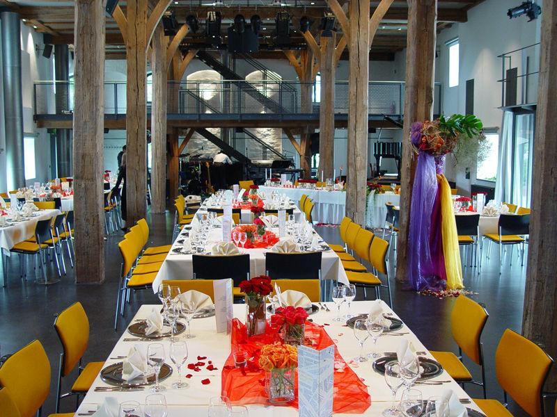 Beispiel: Hochzeitstafel, Foto: Zehntstadel.