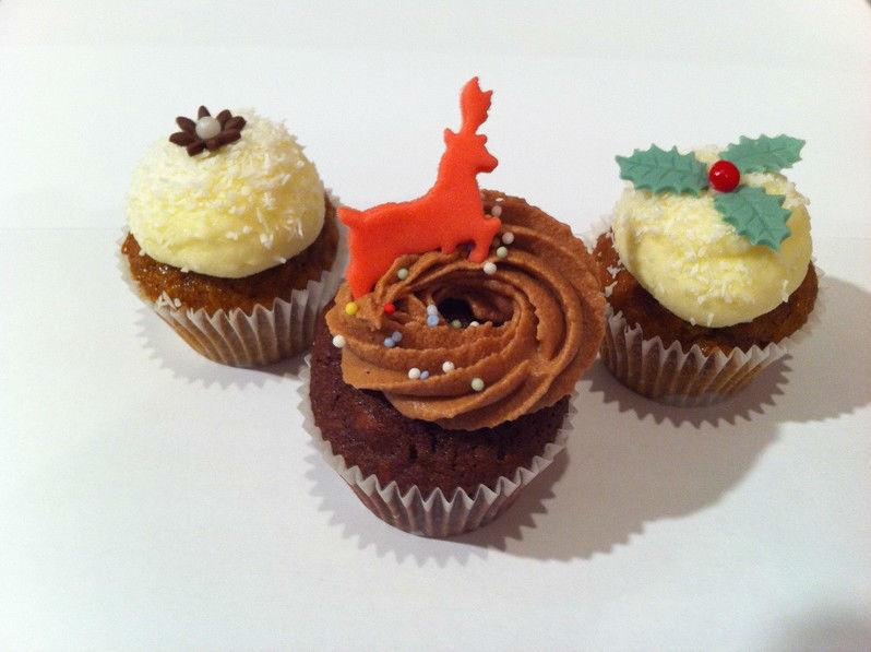 Beispiel: Cupcakes für jeden Geschmack, Foto: The Cake Boutique.