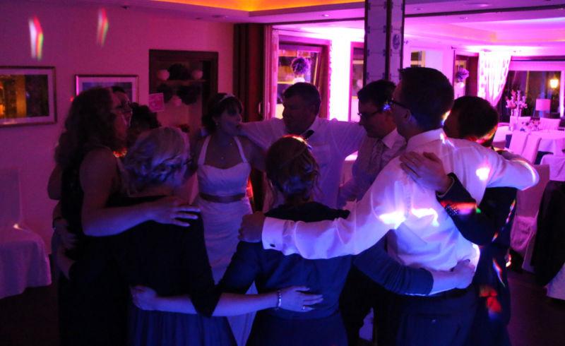 Partystimmung bei den Gästen