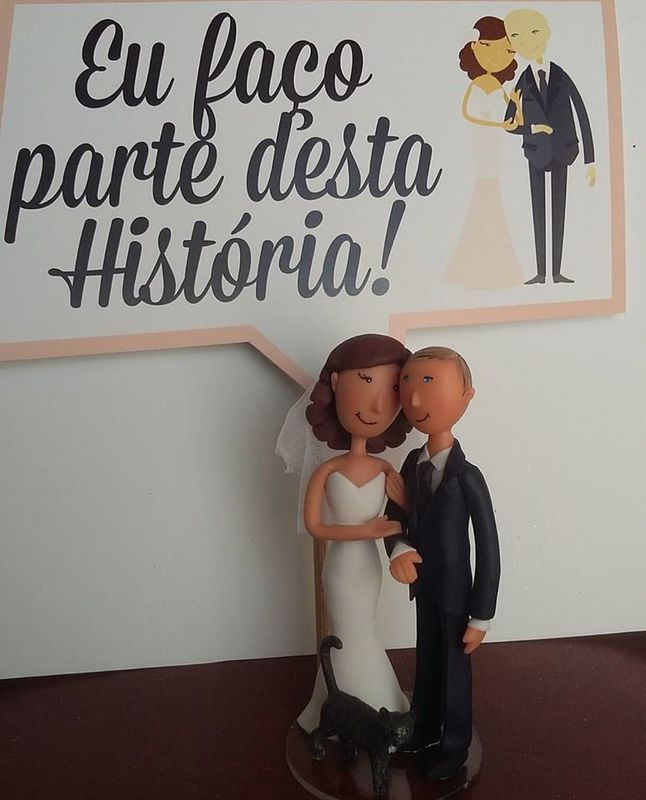 Topo Bolo - Wedding Lovers