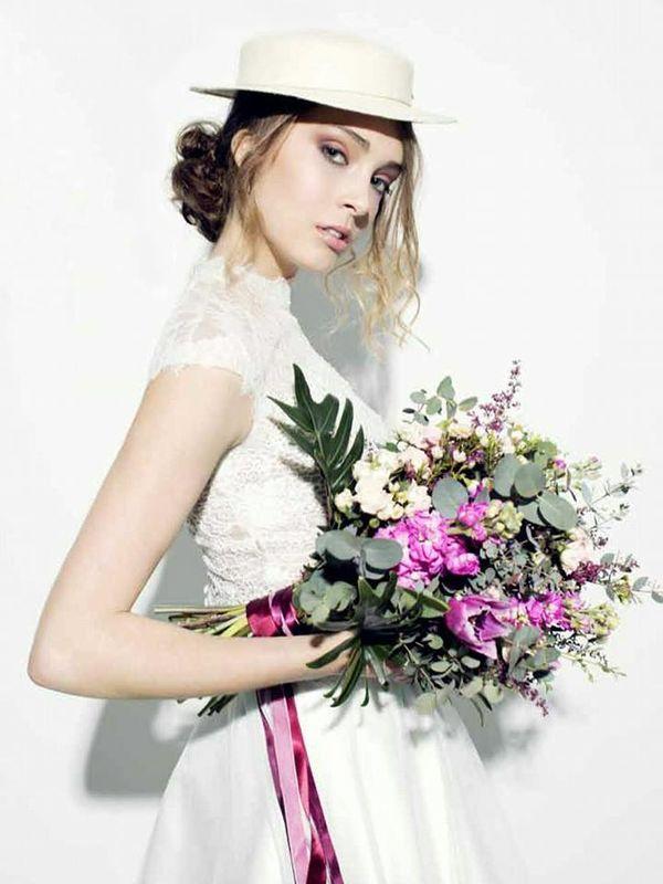 Ramo de novia para la revista Oxxo wedding magazine.