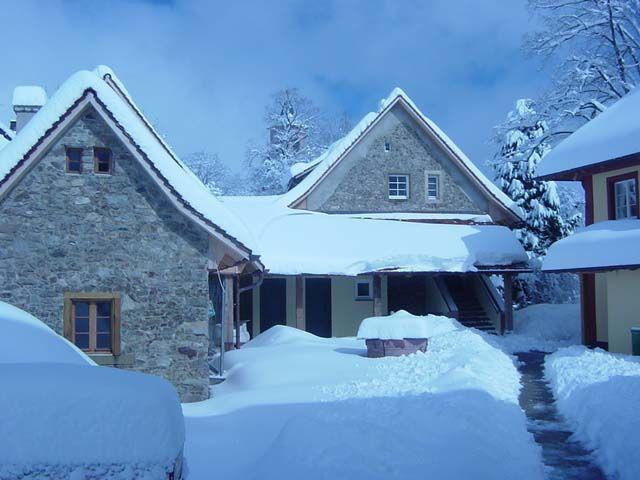 Beispiel: Winterimpression, Foto: Gasthaus zum Raben.