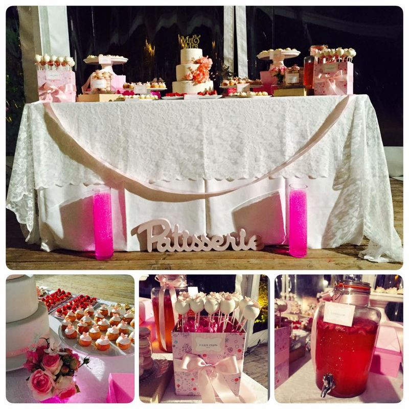 Sweet Table Thématique : La Vie en Rose