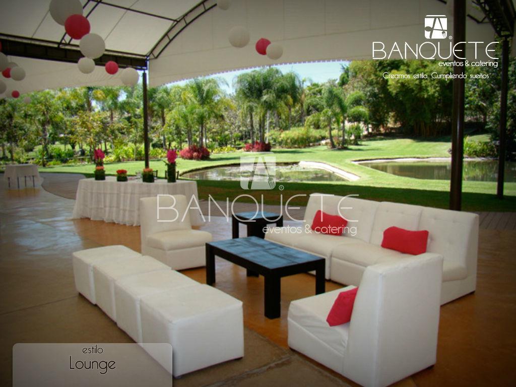 Estilo Lounge #banqueteeventos