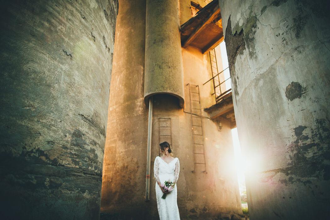Fotografo creativo di matrimonio