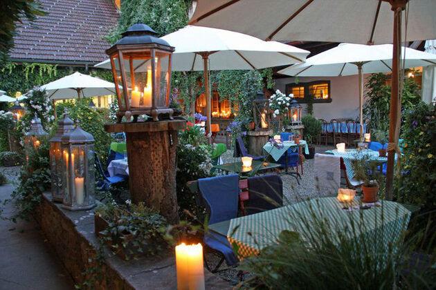 Beispiel: Terrasse, Foto: Landgasthof Bären Madiswil.