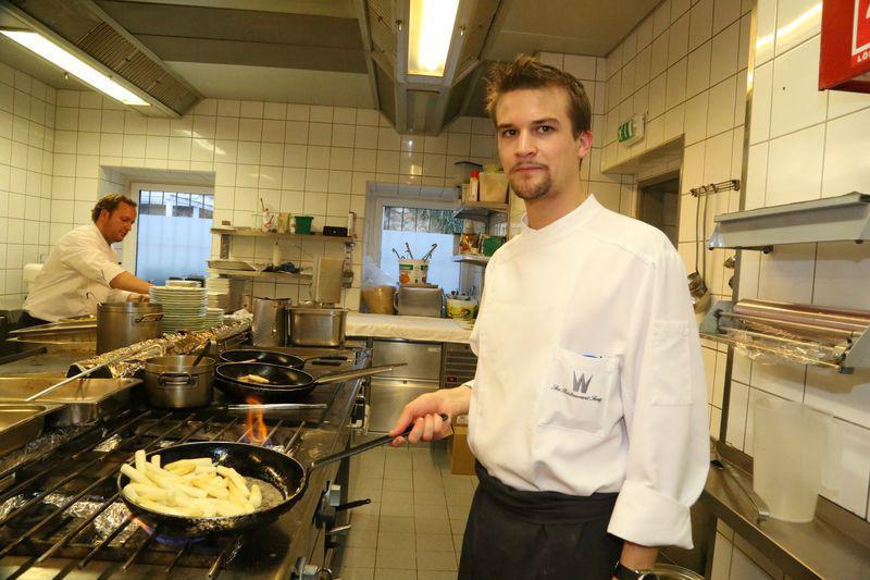 Beispiel: Bei der Arbeit, Foto: Restaurant Oberwirt.