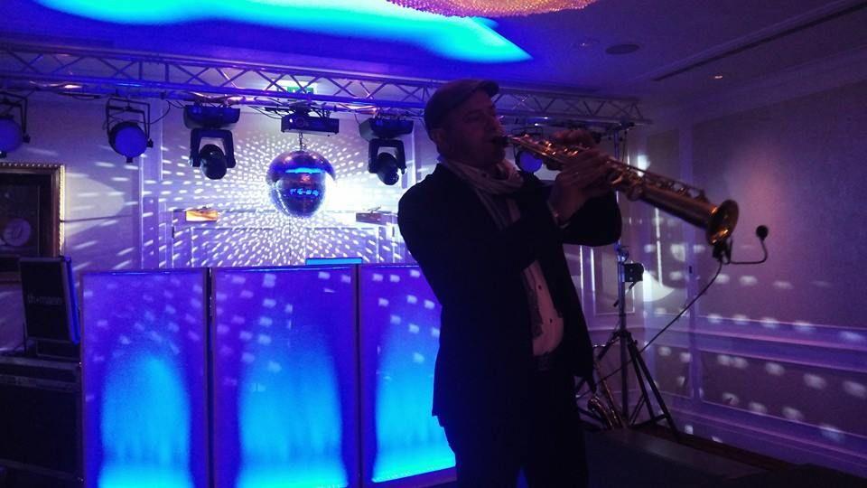 Saxofonista para Cocktail