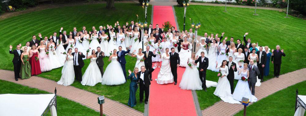 Beispiel: Brautpaare, Foto: Waldhaus Oelper.