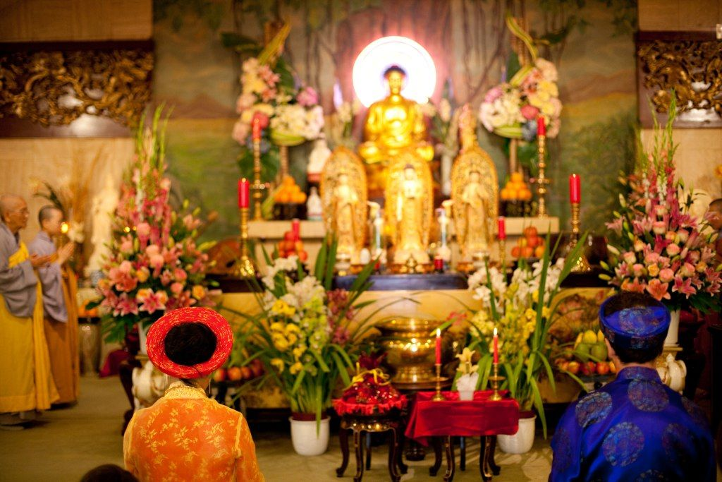 Jules & moi - cérémonie bouddhiste