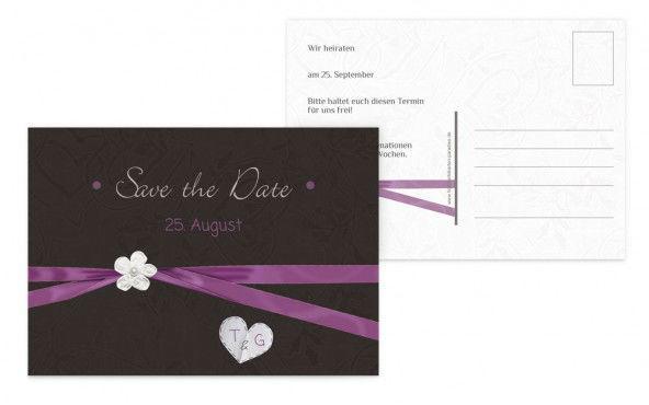 Beispiel: Hochzeitskartensets, Foto: Hochzeitskarten- Paradies.