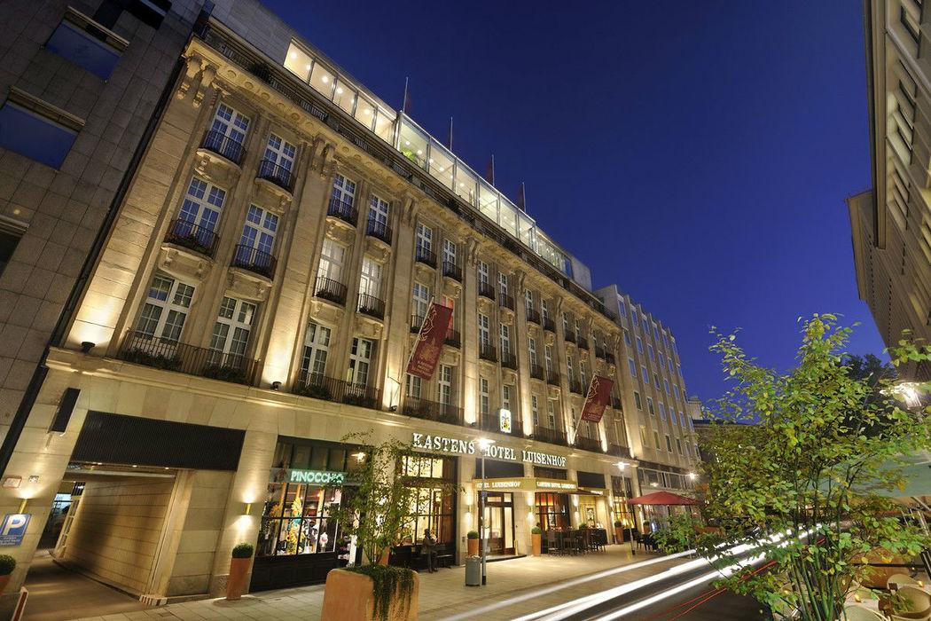 Beispiel: Außenansicht, Foto: Kastens Hotel Luisenhof.