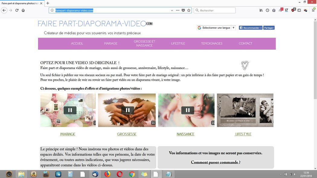 Faire Part et Diaporama.com