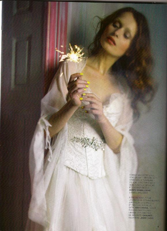 Robe de mariée Nuage à manches longues en soie Agnès Szabelewski