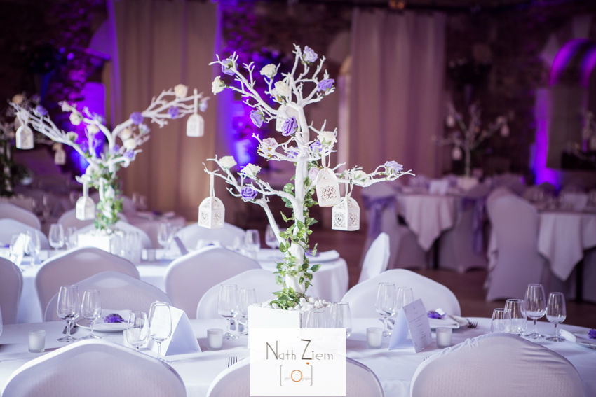 Centre de table by French Wedding Belles