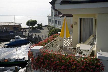 Beispiel: Balkon, Foto: AKZENT Hotel Löwen.