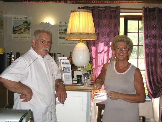 Jean Louis et Chantal maîtres restaurateurs pour vous recevoir