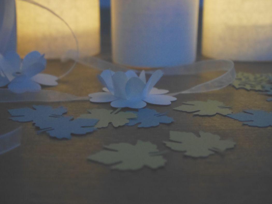 Home Sweet Brocante - confettis de table