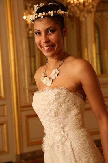 Beaumenay Joannet Paris - Accessoires couronnes de fleurs, et collier en céramique