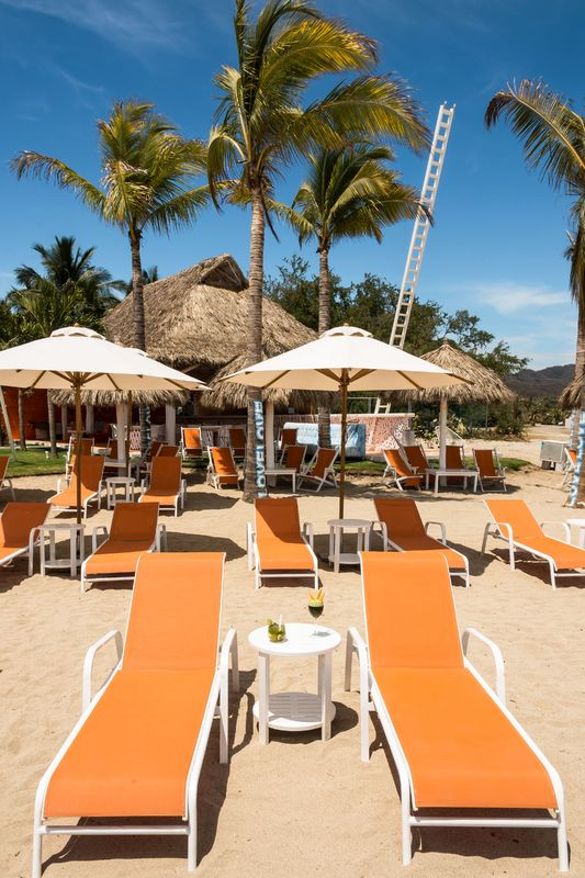 Umbrellas at beach