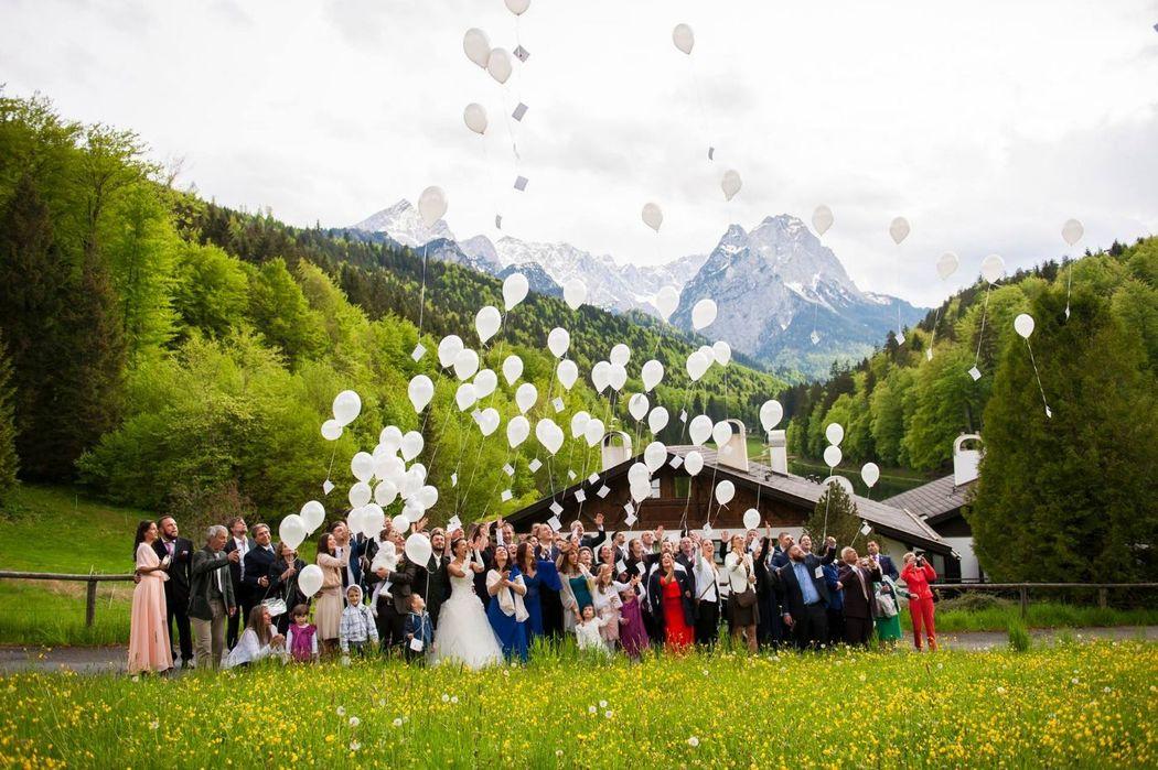 Eine Hochzeit in den Bergen - was kann es Schöneres geben?