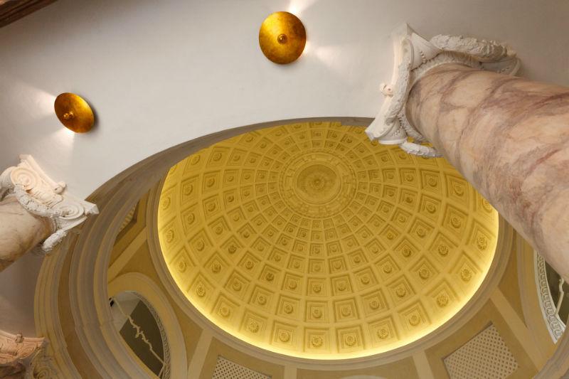 La vista della cupola